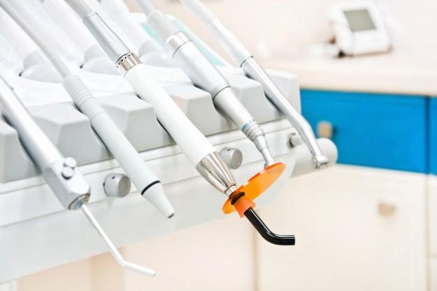 Professionelt tandlægeudstyr
